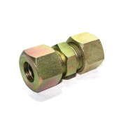 MS Equal Union Couplings Hydraulic Straight Ferrule Fitting