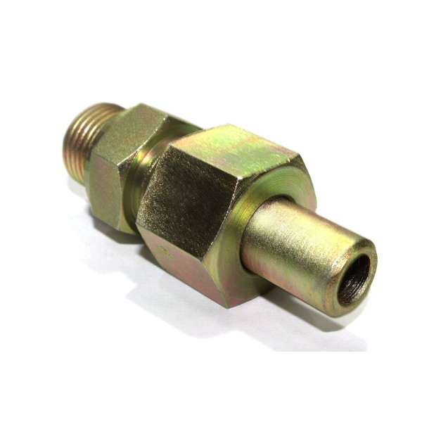Ms weldable male stud couplin parallel hydraulic connector
