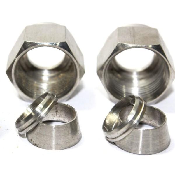 Ss ferrule double od fitting stainless steel
