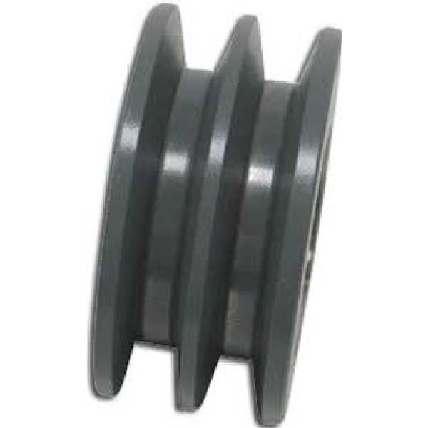 Double B Belt Pulley : Ci v belt pulley fix bore a section double groove ii