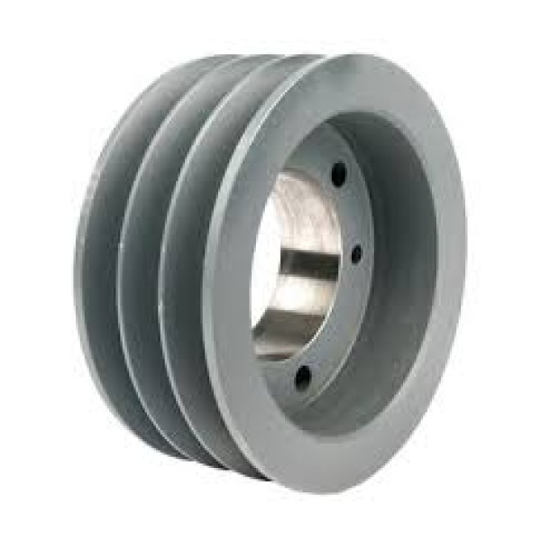 Double B Belt Pulley : Ci v belt pulley fix bore b section double groove ii